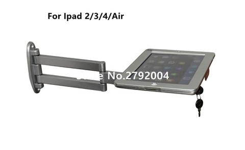 elastica portatil flexivel ipad wall mount flat