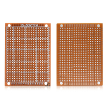 цена на 5Pcs 5x7cm Proto PCB Circuit Board Breadboard For Electronic DIY Projects