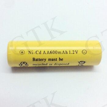 ¡Venta! GTK 20 piezas 1,2 v 600mah nicd batería recargable 2/3AA NI-CD extremo plano con pie de soldadura Razor cámara de Control remoto