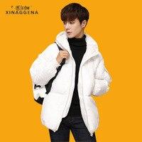 Warm Winter Jackets 2017 Men Fashion Cotton Parkas Casual Loose Coat Thickening Plus Size Parka Zipper