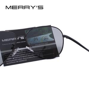 Image 4 - MERRYS, gafas de sol clásicas polarizadas fotocromáticas para hombre, gafas de sol para conducir con camaleón, 100% protección UV S8177