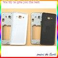 Первоначально Новая Для Samsung Galaxy Grand prime G531 Ближний Рамка Задняя Панель Корпуса с Задняя Крышка Запасные Части