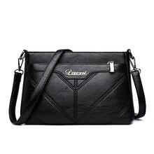 Fashion Woman Shoulder Bag Designer PU Leather Women Messenger Bags Brand Tote Flap Female Handbag Crossbody Bags For Women Sac