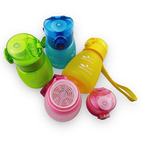 Water Bottle Sport Kids 300ml With Tea Infuser Creative Cute Children Baby Eco Friendly Simple Style