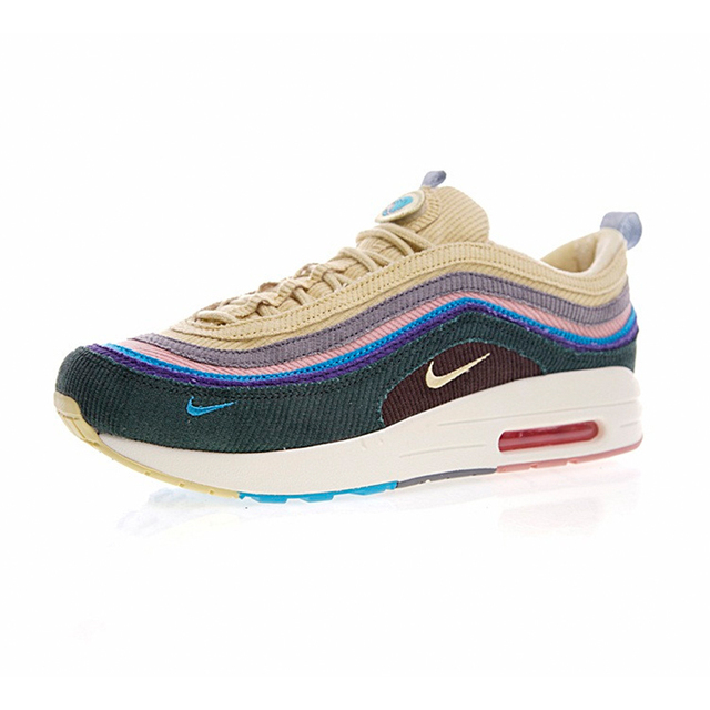 Original New Arrival Authentic Nike Air Max 1/97 VF SW Mens Running Shoes Sport Outdoor Walking Jogging Sneakers AJ4219-400 1
