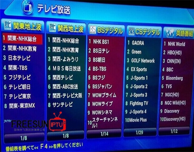 US $245 75  STB Japanese iptv Ihome 2 media box internet tv including 74  full HD japan channels with BS, CS etc channels-in Set-top Boxes from