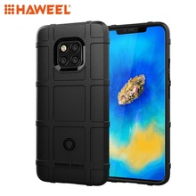 HAWEEL Phone Case for Huawei Mate 20 Pro Shockproof Full Coverage Silicone Protector Cover Shell