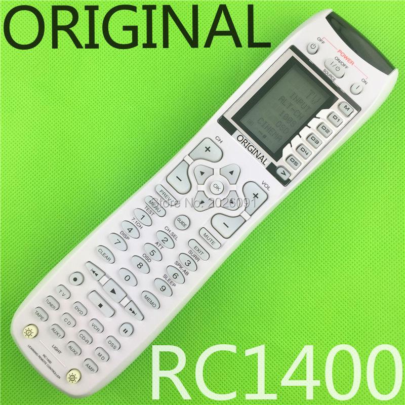 цена на New factory original remote control rc1400 for AV amplifier Marantz SR8500 SR7500 SR7400 Compatible SR7500 7002 8001 8002 7001