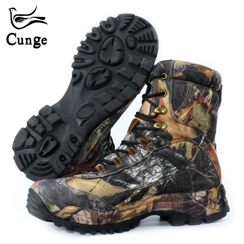 جديد أزياء الرجال أحذية جيش للصحراء العسكرية التكتيكية الدانتيل يصل قماش التمويه الأحذية المضادة للانزلاق القتالية أحذية عمل على  مجموعة 1