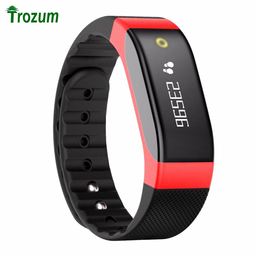 SMA Band Bluetooth Smart Wristband Heart Rate Monitor Activity Tracking Bracelet Breathing Light SmartBand for iOS