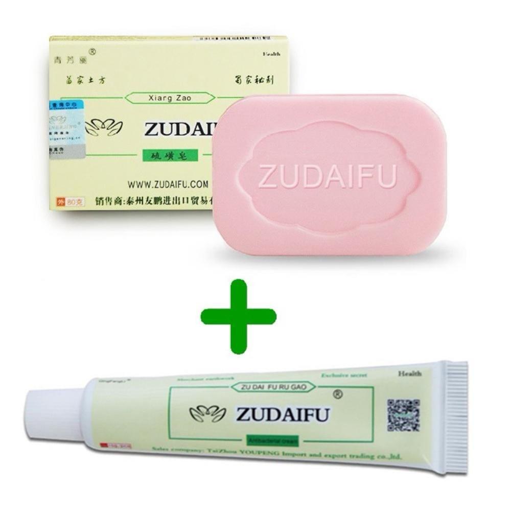 Zudaifu Sulfur Soap Add Skin Psoriasis Cream Dermatitis Eczematoid Eczema Ointment Treatment Psoriasis Cream Skin Care Cream