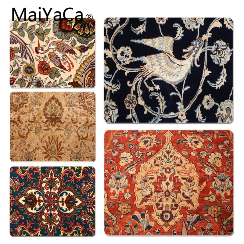 MaiYaCa Persian style Customized laptop Gaming mouse pad Size for 20X25cm and 25X29cm Gaming Mousepads