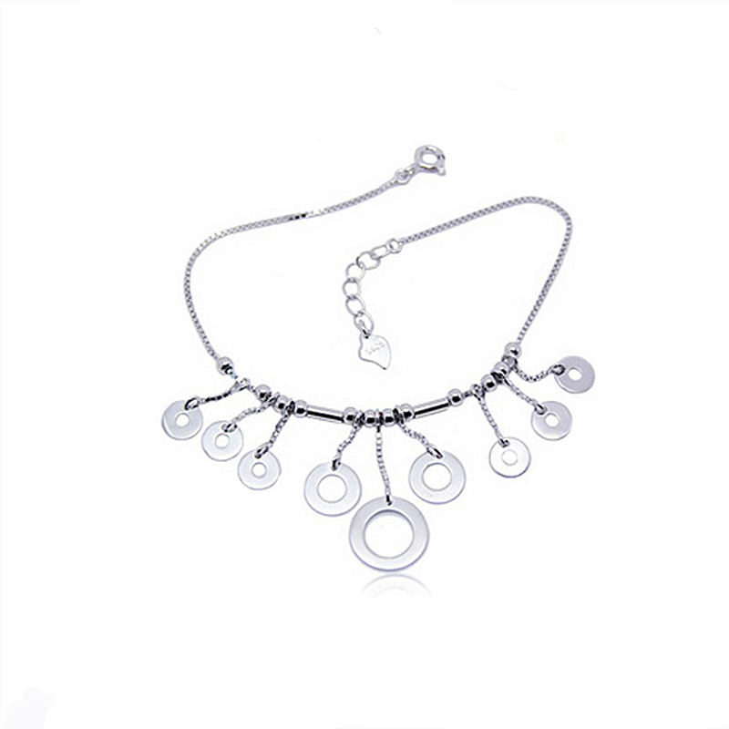 Special store Fashion Trend Loop Pendant Love 925 sterling silver Bracelet jewelry ...