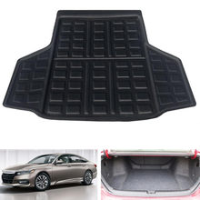 Car Cargo Liner Mat Rear Trunk Luggage Tray Boot Pad Floor Carpet Cover Fit  For Honda Accord 10th 2018 Auto Accessories