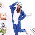 Cosplay Azul Pinguim Pijama Onesie Traje Adulto Pijamas Festa Das Mulheres Dos Homens Unisex