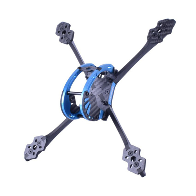 Lisamrc LS-X220 220mm Wheelbase 5mm Arm Carbon Fiber Frame Kit for RC Multicopter Models FPV Racing Drone Camera Motor 110g rc drones quadrotor plane rtf carbon fiber fpv drone with camera hd quadcopter for qav250 frame flysky fs i6 dron helicopter