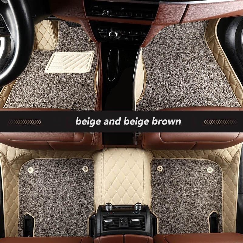 Tapis de sol spécial pour toyota rav4 camry verso corolla land cruiser aygo wish vitz fortuner yaris accessoires auto tapis de voiture - 3