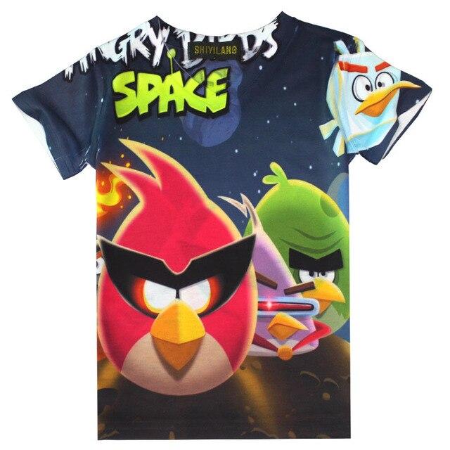 Aliexpress.com : Buy T shirts for boys angry birds Cartoon Short ...