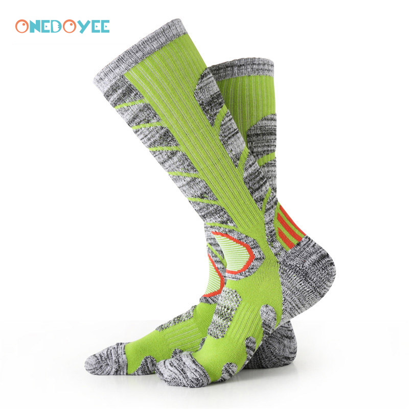 ONEDOYEE Women Thermal Ski Socks Cycling Skiing Socks Leg Warmers Stock Sports Snowboard Climbing Camping Hiking Socks Cotton