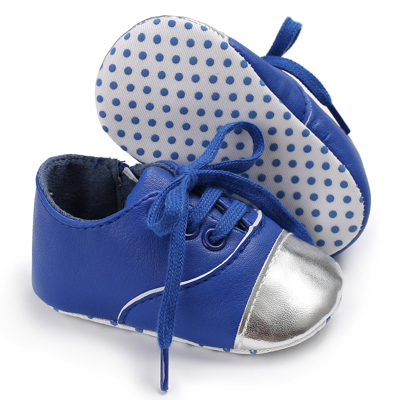 Pu Leather Newborn Baby Sports Todders Infants Silver Bling Bling Girls Booties Firstwalker Sneakers Bebe Kids Boots Cool