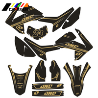 Motorcycle Customized Number Graphics Decals Stickers For HONDA CRF250L 2013 2014 Motobike