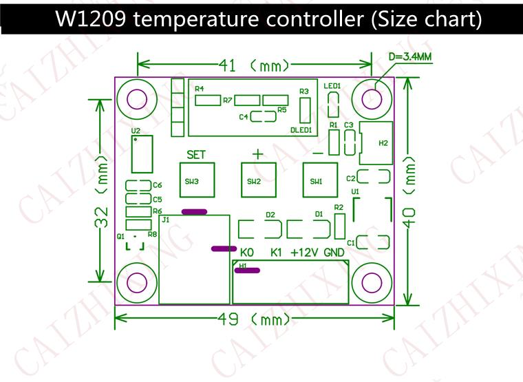 HTB1cWZEKVXXXXXVXVXXq6xXFXXXR aliexpress com buy w1209 dc12v cool temp thermostat temperature  at n-0.co