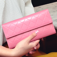 Special Offer Beautiful Fashion Patent Leather Women Wallets Long Brand Designer Purses Elegant Women Clutch Bag