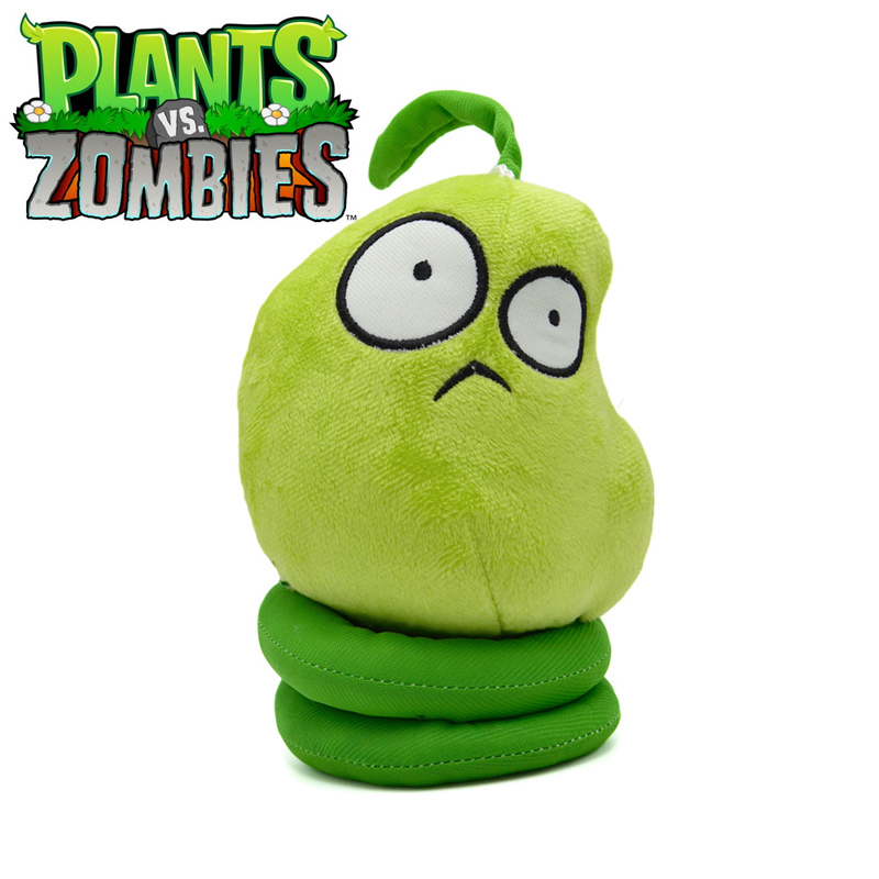 16cm PVZ Plants vs Zombies 2 Plants Spring Bean Stuffed Plush Toys Doll Games PVZ Soft Plush Toy Brinquedos for Kids Xmas Gifts 5pcs lot pikachu plush toys 14cm pokemon go pikachu plush toy doll soft stuffed animals toys brinquedos gifts for kids children