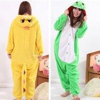 Animal Blue Dinosaur Onesies Kigurumi Adult Green Dragon Pajamas Pyjamas Jumpsuit Nightwear Carnival Costumes