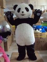 Волосатые панда талисман костюм Китай панда костюм мультфильм панда головы костюмы, Бесплатная доставка