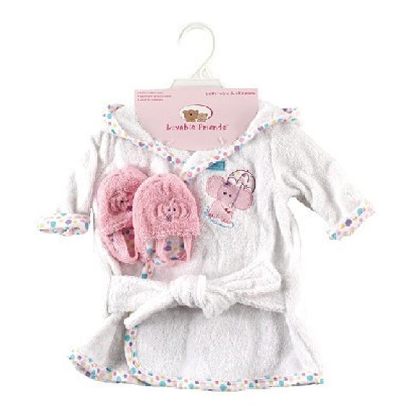 New Design Cotton Warm Baby Bath Robes Child Cartoon Baby Towel Character Kids Bath Towel Infant Hooded Towel Set (3)