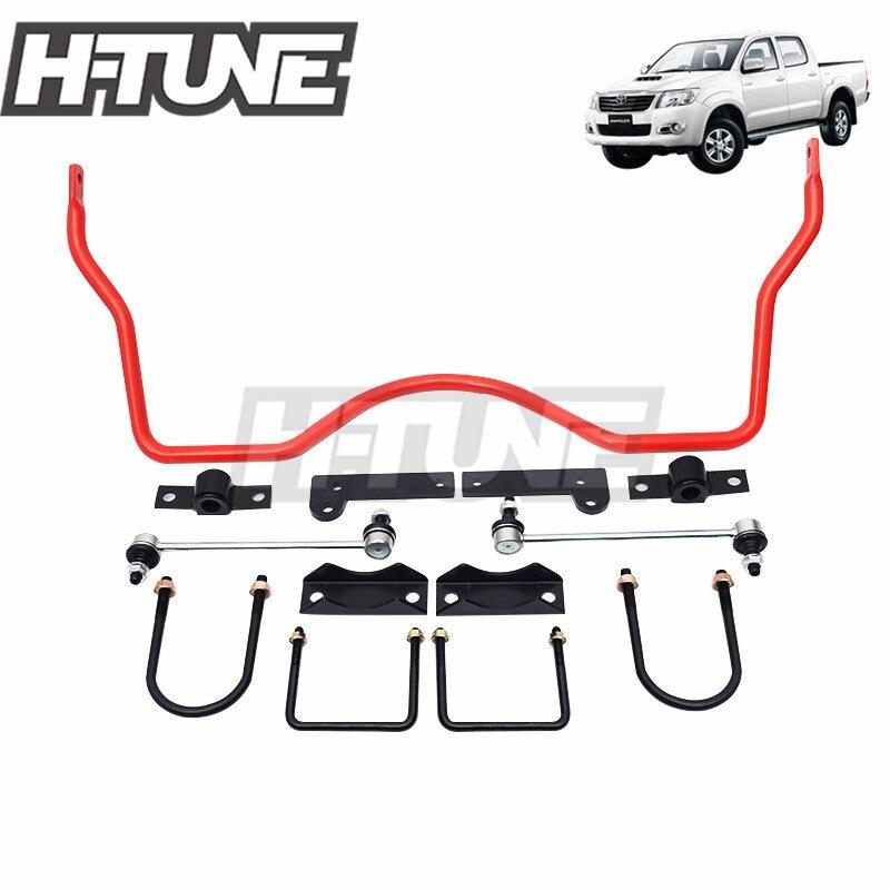 H-TUNE 4x4 accessoires 22mm barres stabilisatrices antiroulis arrière Kits pour Hilux VIGO 05-14