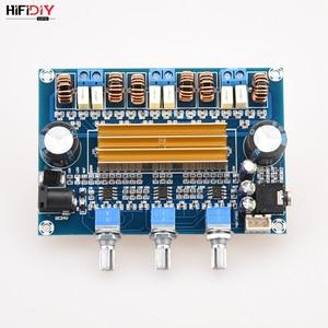 Image 3 - HIFIDIY VIVER A2.1 TPA3116 2.1 Carro Placa Amplificador Hi Fi Amplificador de Áudio Digital 50 w * TPA3116 2 + 100 w casa para a Coluna