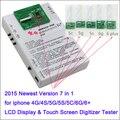 DHL Freeshipping 2015 Nueva pantalla LCD y Del Digitizador de la pantalla táctil de la pantalla Táctil Probador placa de prueba para el iphone 6g 6 plus 6 + 4 4S 5 5S 5c