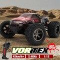 KF S911 1/12 2WD 42 км/ч RC Автомобилей Высокоскоростной Дистанционного Управления Off Road Dirt Bike Classic Toys Truck Traxxas Big Wheel Мальчик подарок