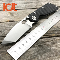 LDT SMF Tactical Folding Knives Honeycomb G10 Handle Hunting Camping Blade Knife Outdoor Unility Pocket Military