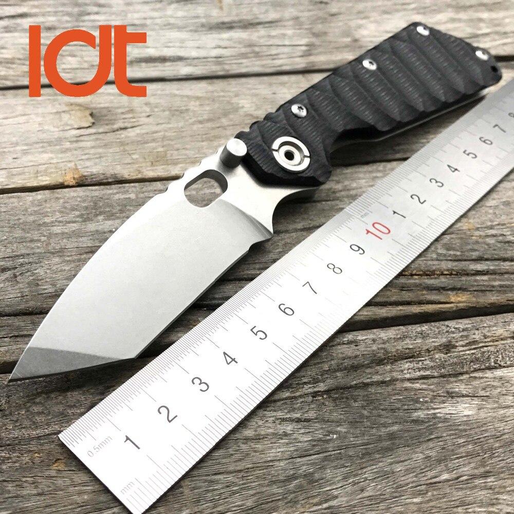 Ldt smf tático faca de dobramento 9cr18mov lâmina g10 lidar com sobrevivência caça acampamento lâmina faca ao ar livre faca militar dec ferramenta