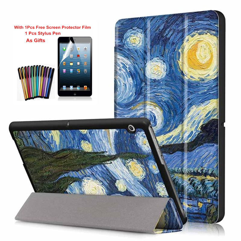 Ultra Slim PU Leather Stand Case For Huawei MediaPad T3 10 AGS-L09 AGS-W09 Tablet Cover For Honor Play Pad 2 9.6 inch+Film+PenUltra Slim PU Leather Stand Case For Huawei MediaPad T3 10 AGS-L09 AGS-W09 Tablet Cover For Honor Play Pad 2 9.6 inch+Film+Pen