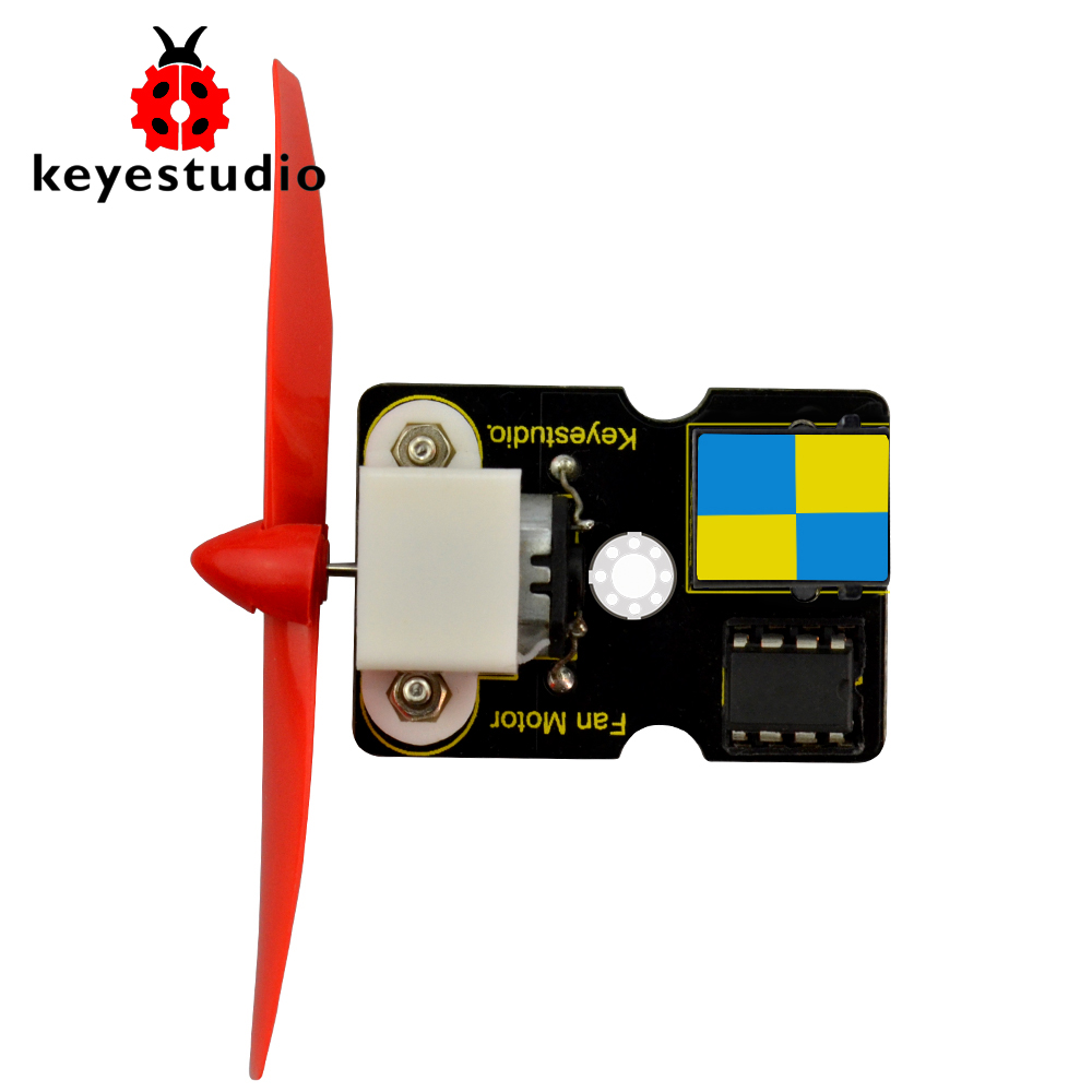 Keyestudio EASY plug L9110 Fan Module  For Arduino Firefighting Robot STEAMKeyestudio EASY plug L9110 Fan Module  For Arduino Firefighting Robot STEAM