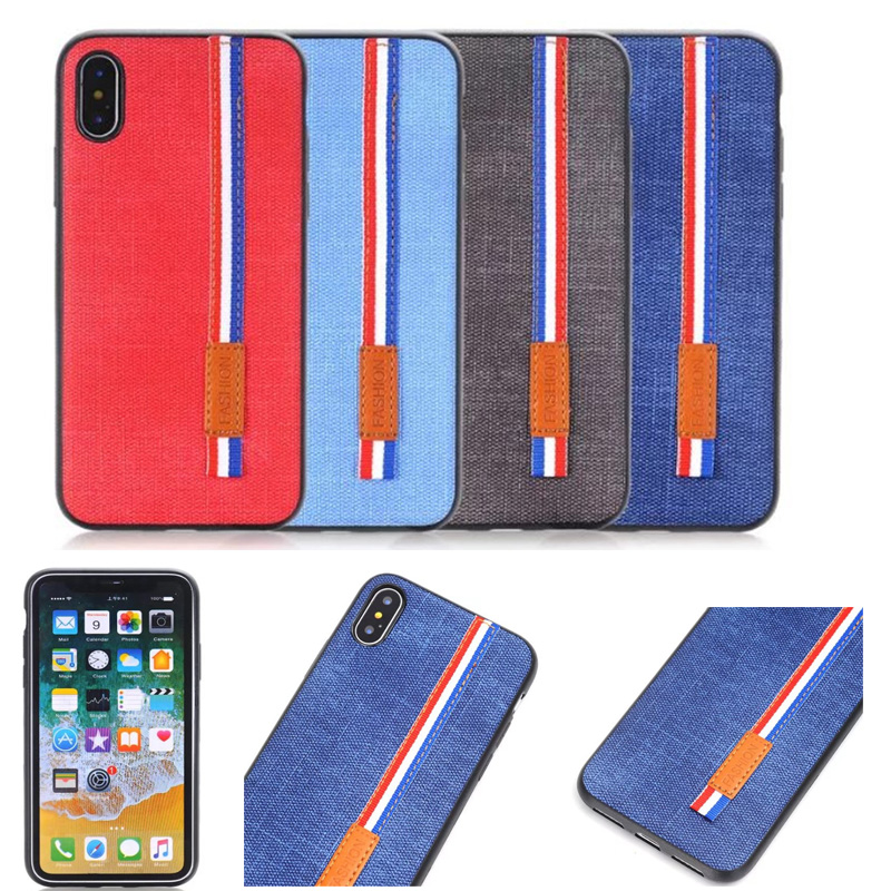 4 цвета бизнес-ковбой ПУ handphone чехол для Apple IPhone X 8 7 6 же пункте Шнурки Телефон чехол для iphone 8 плюс 7 P крышка