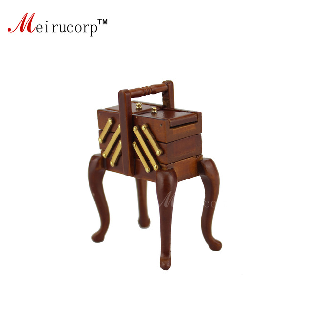 Dollhouse 1:12 scale Miniature furniture Hand made tool box 10629