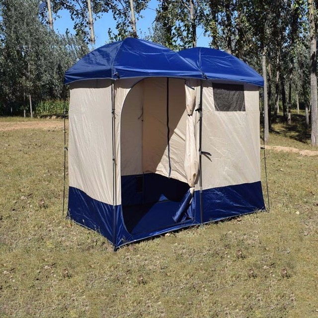 Outdoor Toilet Tent C&ing Shelter Portable Shower Take Bath Tenda Changing Room Privacy Tente Ultralight Waterproof & Outdoor Toilet Tent Camping Shelter Portable Shower Take Bath ...