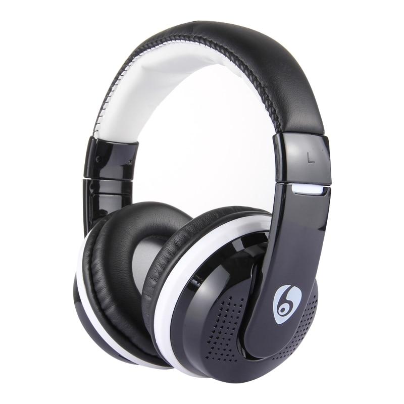 OVLENG MX666 Bass Headphone Wireless Noise Cancelling Headphones FM Headset Earphone for Phone PC Computer Headband