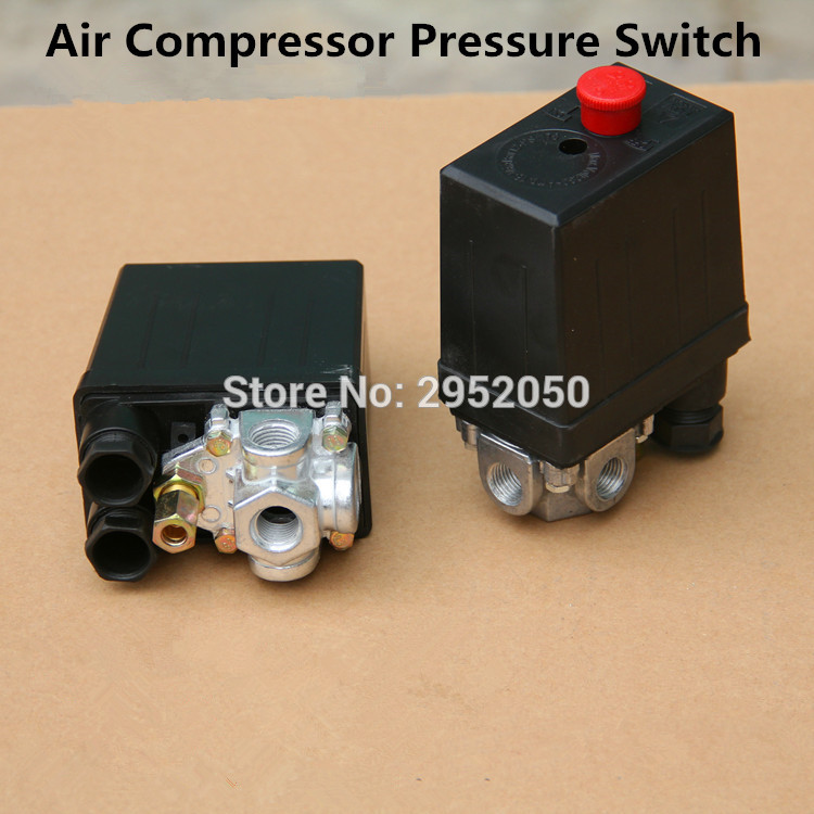 Free shipping High Quality 1 Pcs Heavy Duty Air Compressor Pressure Switch Control Valve 220VAC 90 PSI -120 PSI DropShippingFree shipping High Quality 1 Pcs Heavy Duty Air Compressor Pressure Switch Control Valve 220VAC 90 PSI -120 PSI DropShipping