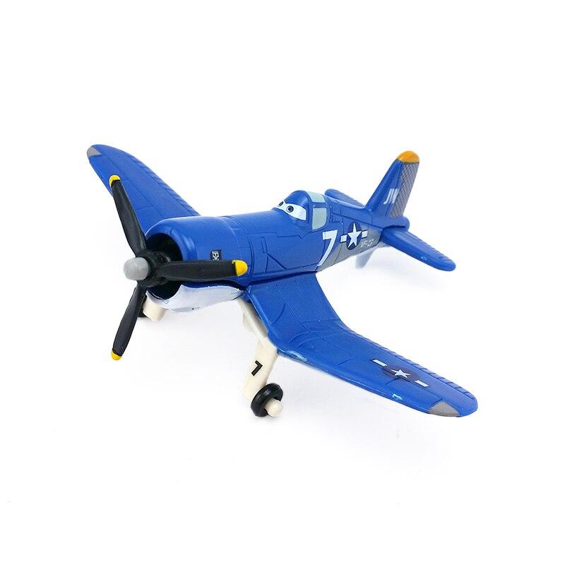 Disney Pixar Planes No.7 Skipper Metal Diecast Toy Plane 1:55 Loose New In Stock &