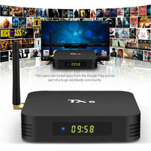 Asli TX6 Android 9.0 TV Box Smart Allwinner H6 Quad Core Dual Antena Dual WIFI BT4.2 HDR 4 K Set top Box PK T95D H96 TV Box(China)