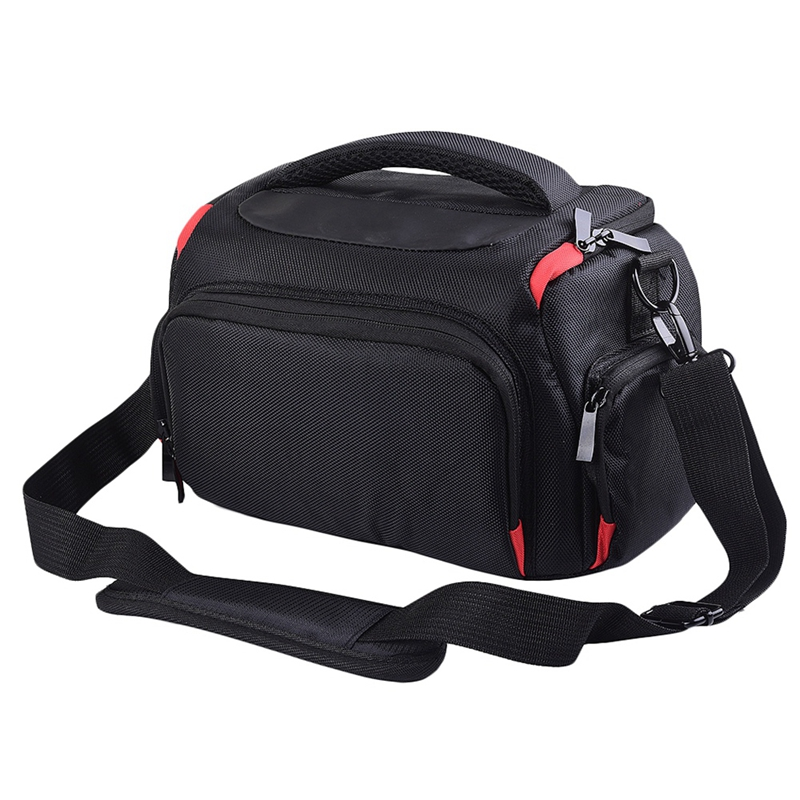 Dslr Camera Bag Case Shoulder Bag Waterproof Case For  Ni K On Ca Non Pen Tax Olym Pus Co Ver Photography Photo Cases