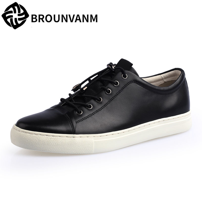 In the spring new British style leisure men shoes leather increased trend of Korean street retro black shoes cowhide breathable лоферы keddo цвет бежевый