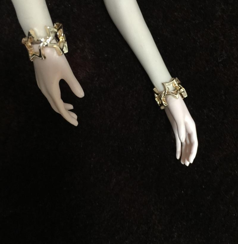 Toys & Hobbies 1/6 Golden Bracelet Model For 12 Figures Accessories Reliable Performance