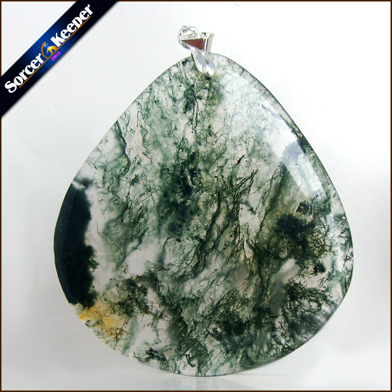 Unique Mens Jewelry Agates Natural Stone Pendants Statement Necklaces Wholesale Crystal  ...
